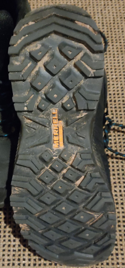Merrell ForestBound Mid WP Rubber Sole